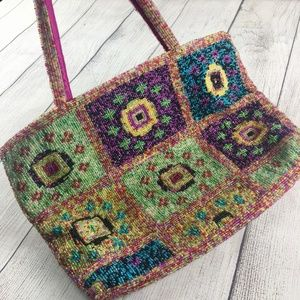 Beaded colorful bag GORGEOUS